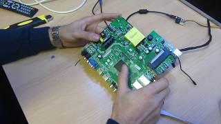 Универсальный скалер ZP.VST.3463G.A с Блоком питания и LED драйвером