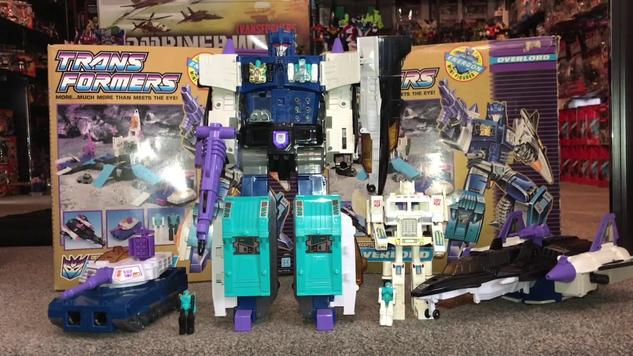 TWO Generation 1 Overlords Showing All 4 / 5 Modes by Toys Are Russ