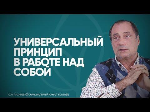 С.Н. Лазарев | Универсальный принцип в работе над собой