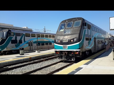 Railfanning Metrolink Baldwin Park to LA Union Station Pt  2