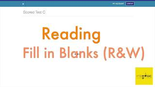 79 PTE MOCK C READING FILL IN BLANKS TIME MANAGEMENT