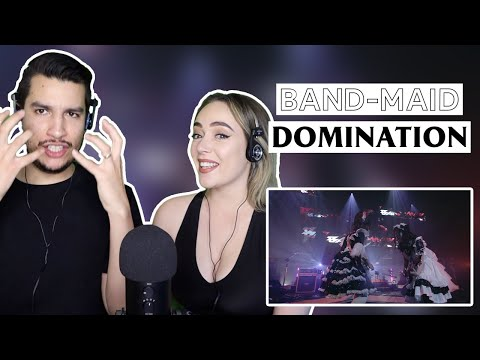 WIFE reacts to BAND-MAID - Domination (LIVE Feb. 14th, 2020)