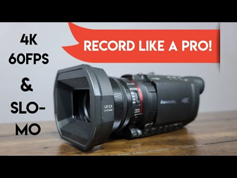 BEST Camcorder In 2020? - Panasonic HC-X1500 4K 60 FPS Camcorder Review