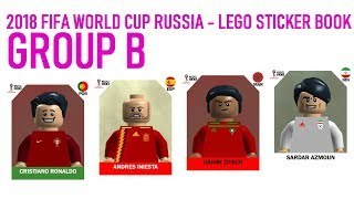 Lego World Cup Sticker Book - Russia 2018 - Group B