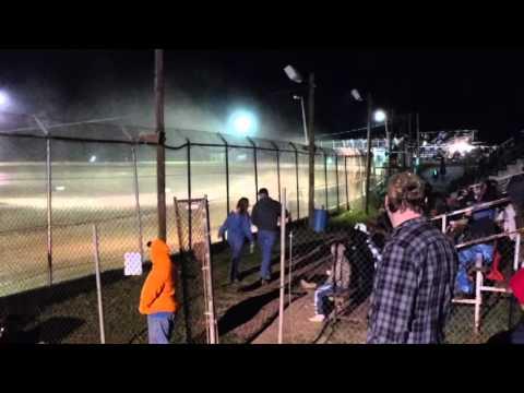 Skyline Speedway Heat 1 Tony Roush T55 4-1-16