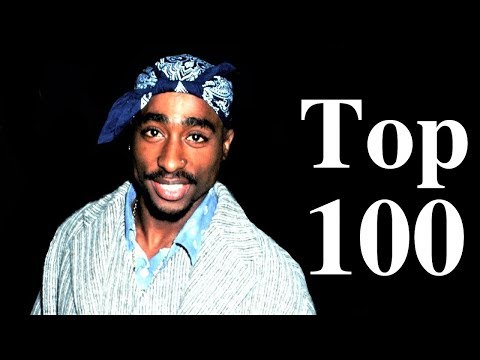 Top 100 - 2Pac Unreleased Songs [Rare Songs & Photos]