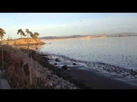 Sunset from San Quentin beach