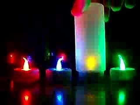 Candele colorate youtube for Candele colorate
