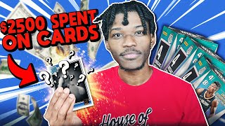 I SPENT $2500 ON NBA CARDS AND HERE'S WHAT I GOT...