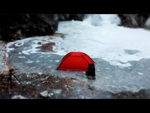 얼음폭포 계곡에서 하룻밤 | 덕풍계곡 | 동계