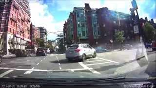 Caught on a Dashcam - Fender Bender Accident - BlackVue DR650GW-2CH