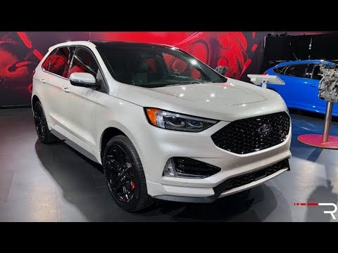 2019 Ford Edge St Redline First Look 2018 Naias Youtube