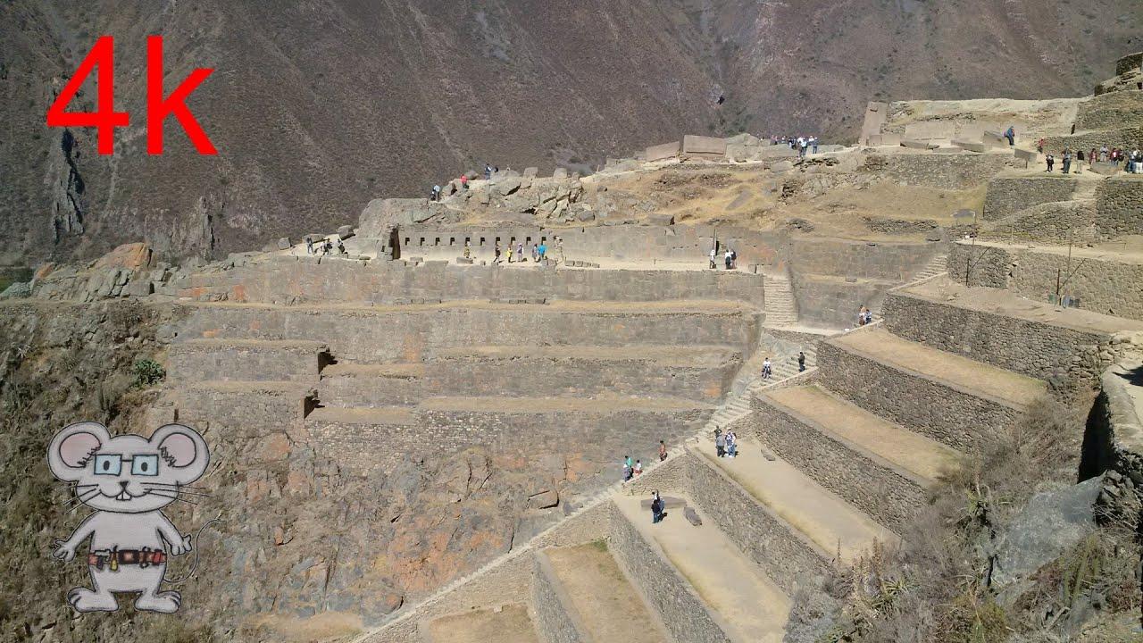 Ollantaytambo peru in 4k youtube for The terraces 2