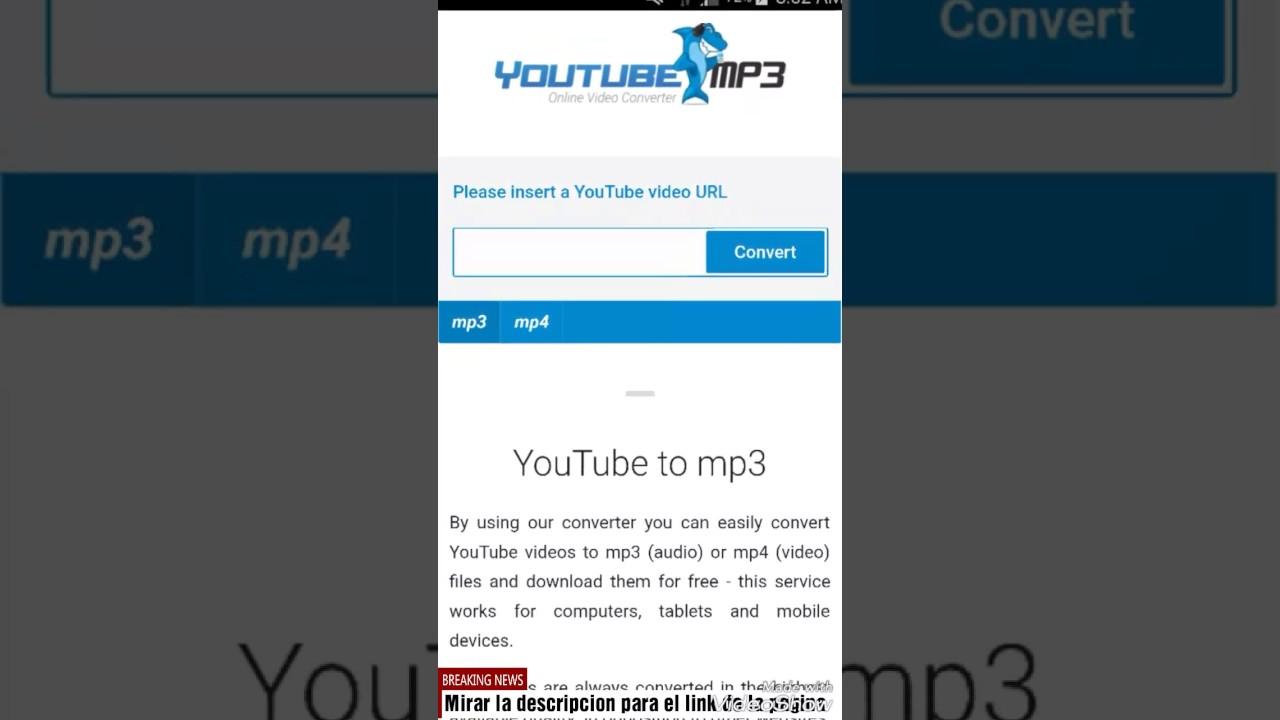 Descargar Musica Y Videos De Youtube Sin Ninguna App Youtube