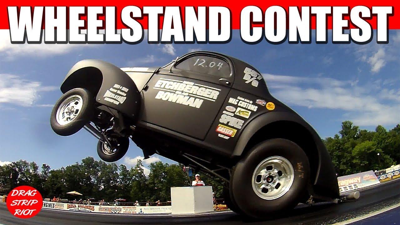 Gasser Nationals Wheelstand Contest Nostalgia Drag Racing Beaver Springs  Dragway 2014