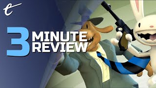 Sam & Max Save the World Remastered | Review in 3 Minutes (Video Game Video Review)