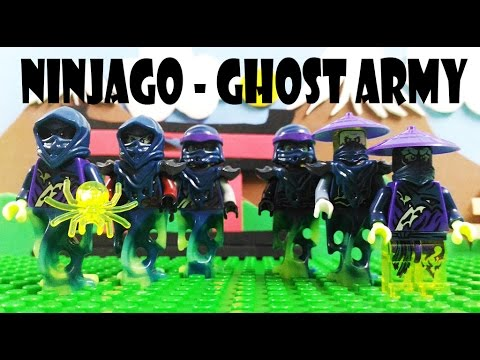 Lego - Ninjago Ghost Army - Knockoff Minifigures Review - YouTube
