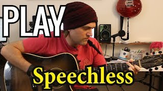 How To Play Speechless On Guitar By Dan + Shay