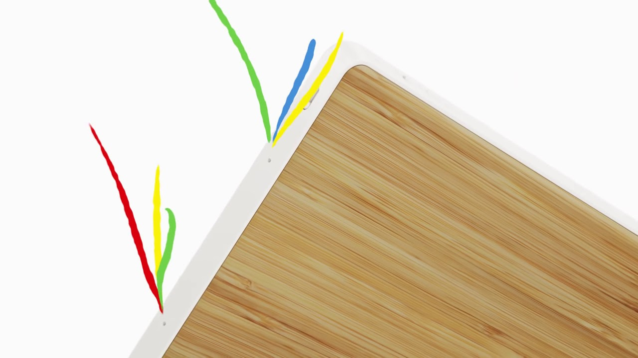 video Lenovo Smart Display 7 met Google Assistant – Grijs