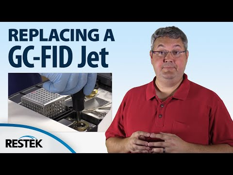 Replacing a GC-FID Jet