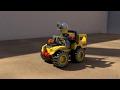 Lego City 30152 Mining Quad polybag - Assembly Animation