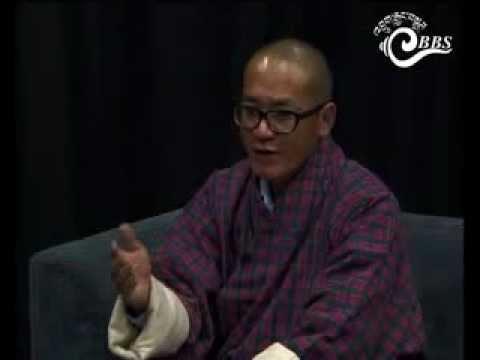 Dawai Kudroen with Sonam Tobgay, Interim President, Bhutan Kuen-Nyam Party
