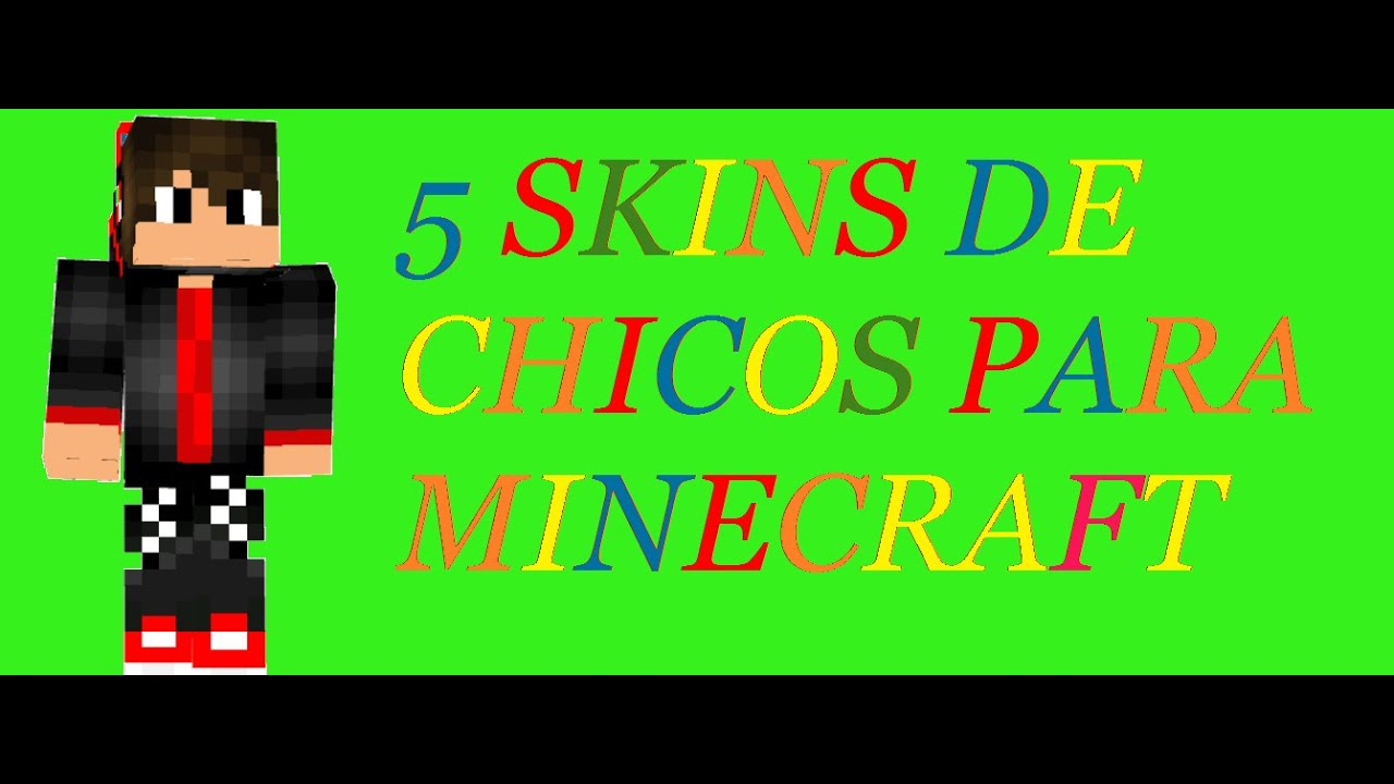 SKINS PARA CHICOS EN MINECRAFT YouTube - Skins guapos para minecraft pe