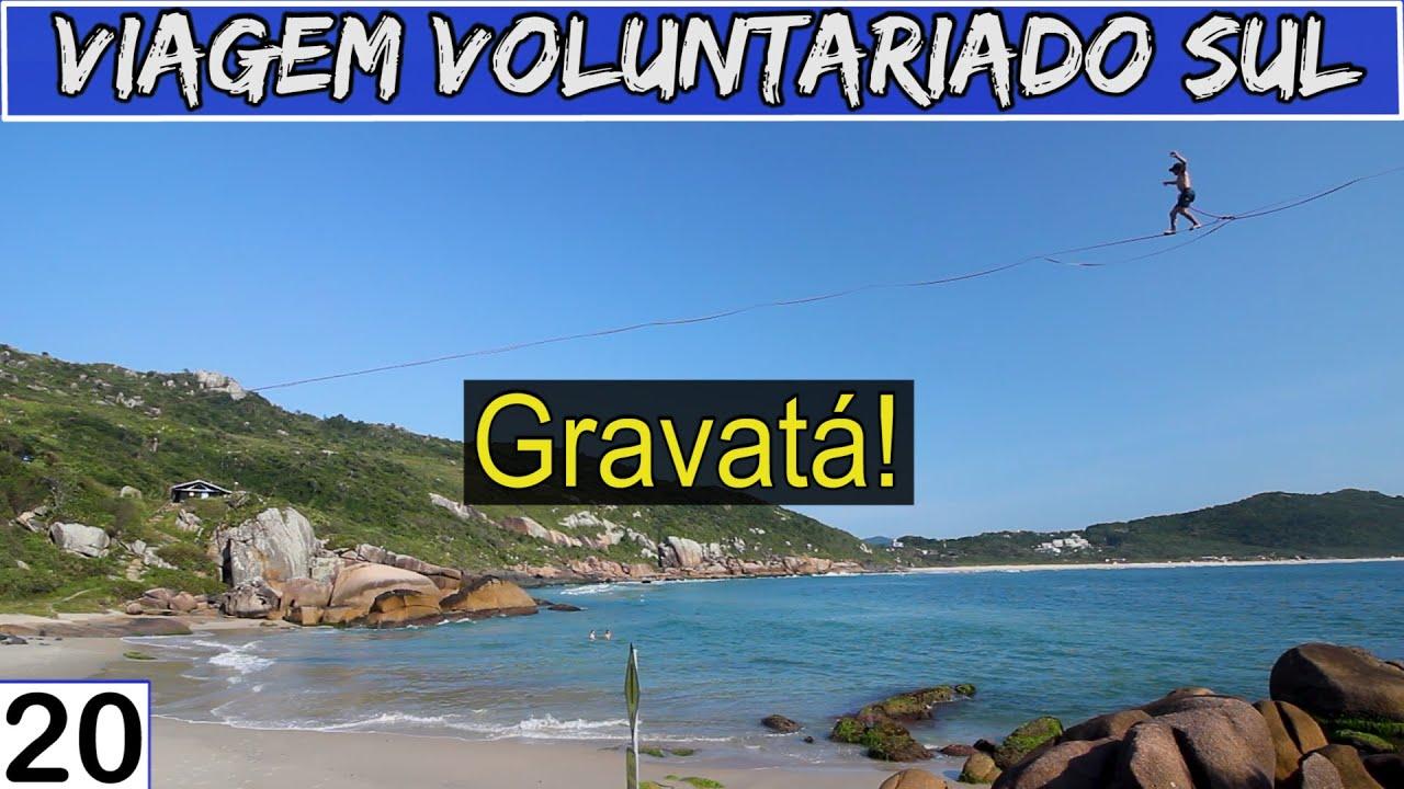 Trilha para a Praia do Gravatá e Praia Secreta | Viagem Voluntariado Sul #20