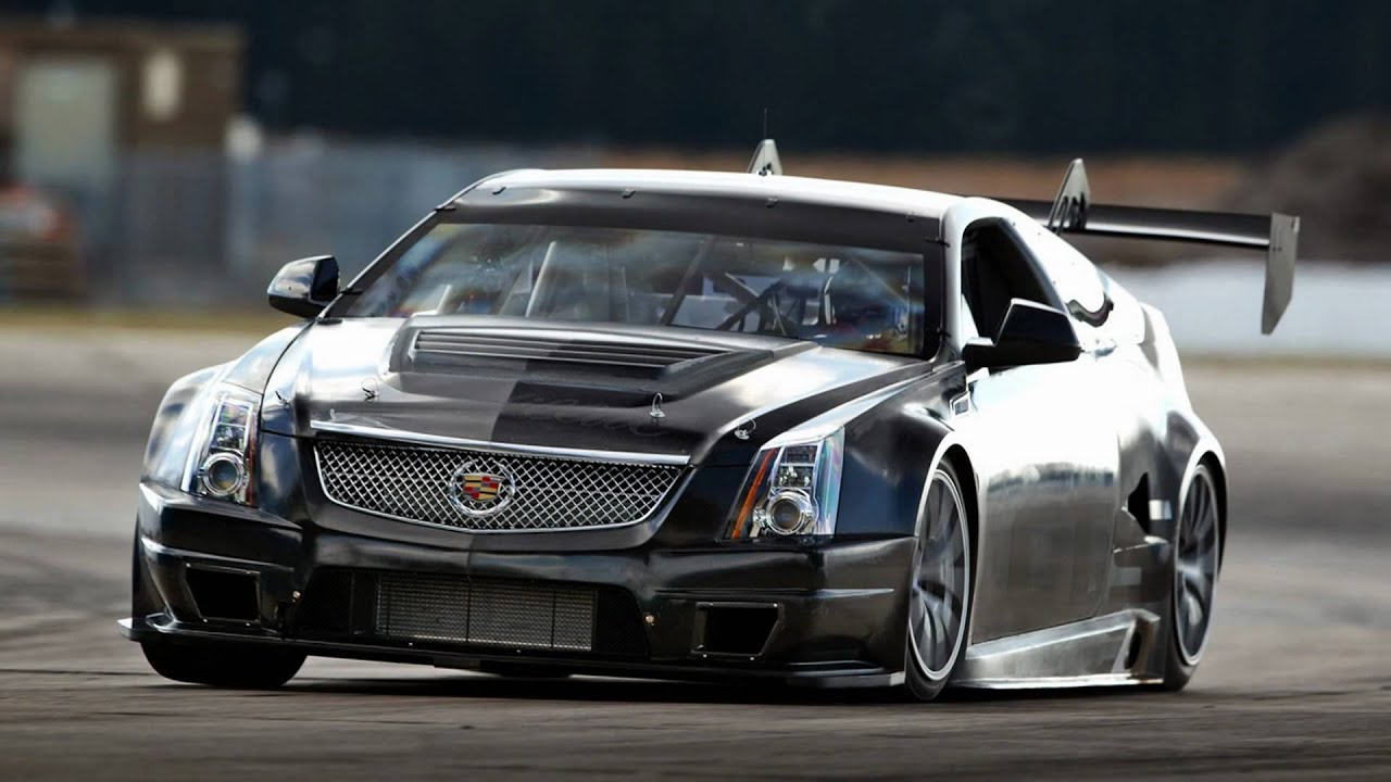 2011 cadillac cts v coupe scca race car youtube. Black Bedroom Furniture Sets. Home Design Ideas