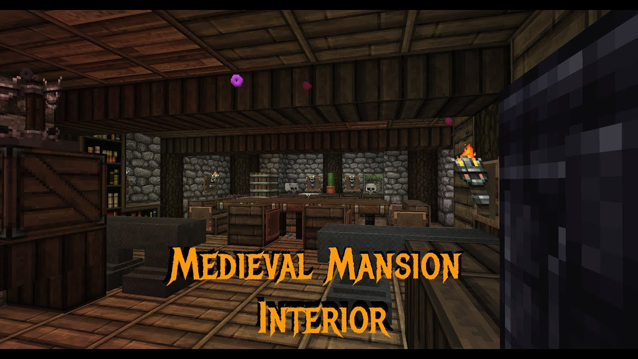 Minecraft Gundahar Tutorials Medieval Rustic Mansion