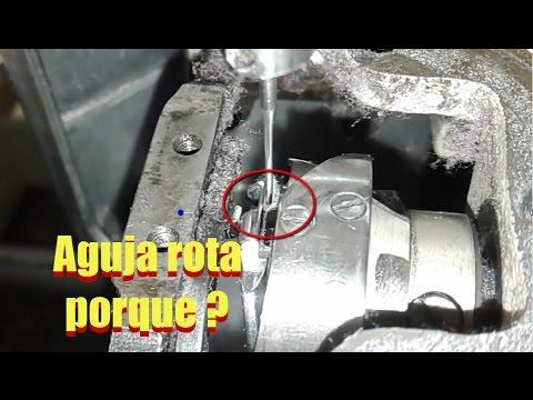 Porque la recta PARTE AGUJAS ( soluccion paso a paso ) | mecanica confeccion