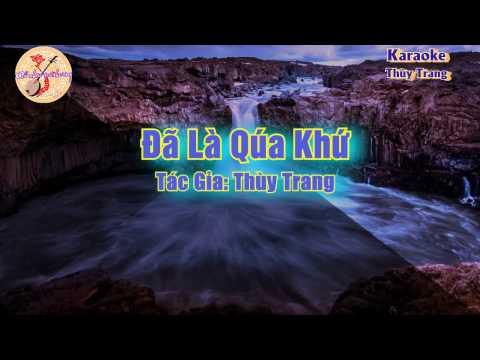 Karaoke vọng cổ - Đã Là Qúa Khứ ( song ca)