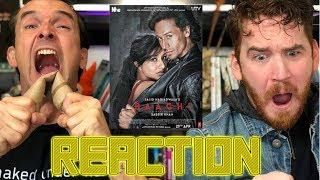 BAAGHI Trailer REACTION!!