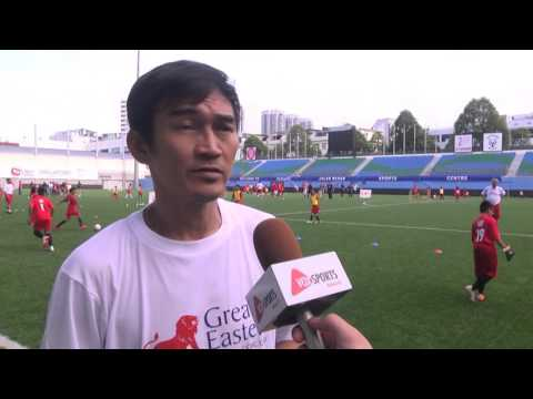 Great Eastern SG50 Wishes - Kids Football Clinic