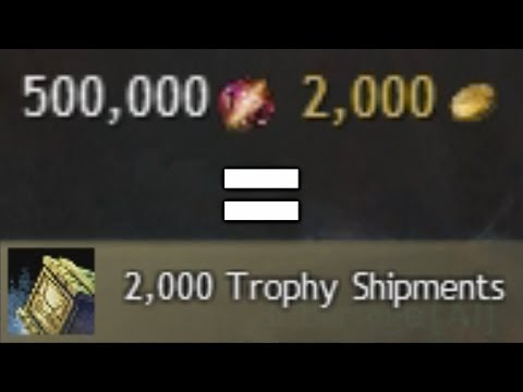 Opening 2,000 Trophy Shipments  |  Guild Wars 2