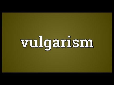 Header of vulgarism