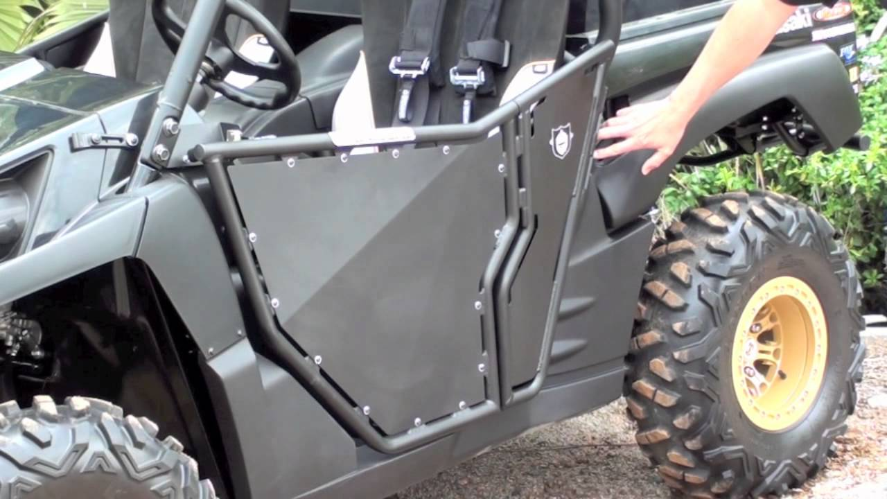 & Pro Armor Doors for the Kawasaki Teryx - YouTube
