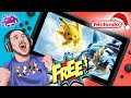 FREE Nintendo Switch from GAME plus we play the new pokemon game on the Switch!!!