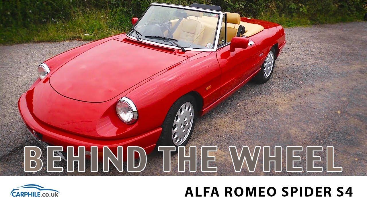 alfa romeo spider s4 sports car behind the wheel drive carphile rh youtube com Alfa Romeo 4C Alfa Romeo Spider 916 Petrol Filters