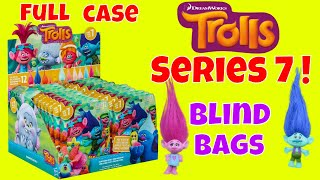 Full Case Trolls Series 7 Blind Bags Opening Dreamworks Color Changing Toy Review