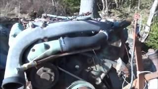 Starting old Mercedes Diesel v6 truck engine after sitting for 9 months