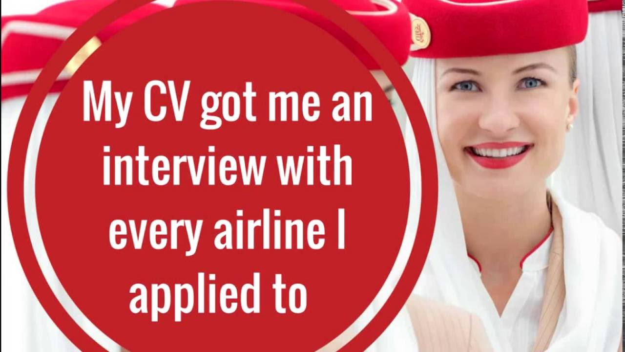 sample cv for emirates cabin crew