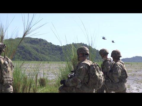 DFN:Balikatan 18: 'Gimlets' conduct air assault rehearsal, PHILIPPINES, 05.13.2018
