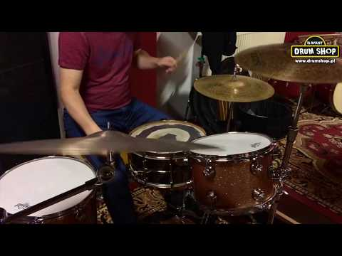 "drumshop.pl Natal Cafe Racer Jazz + Turkish R & S 15"" Hi-hat"