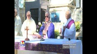 Santa Messa in commemorazione dei defunti al Cimitero di Acquaviva 02 11 2017