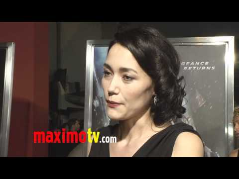 "Sandrine Holt Interview at ""Underworld: Awakening"" Premiere"