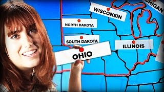 Americans Try Labeling Midwestern States