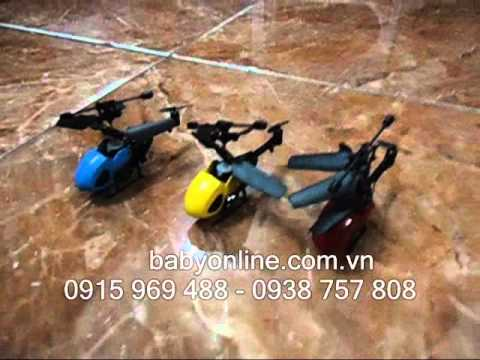 máy bay trực thăng điều khiển từ xa mini QS5010