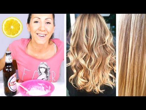 Come schiarire i capelli in modo naturale Tuttogreen - metodi naturali per schiarire i capelli