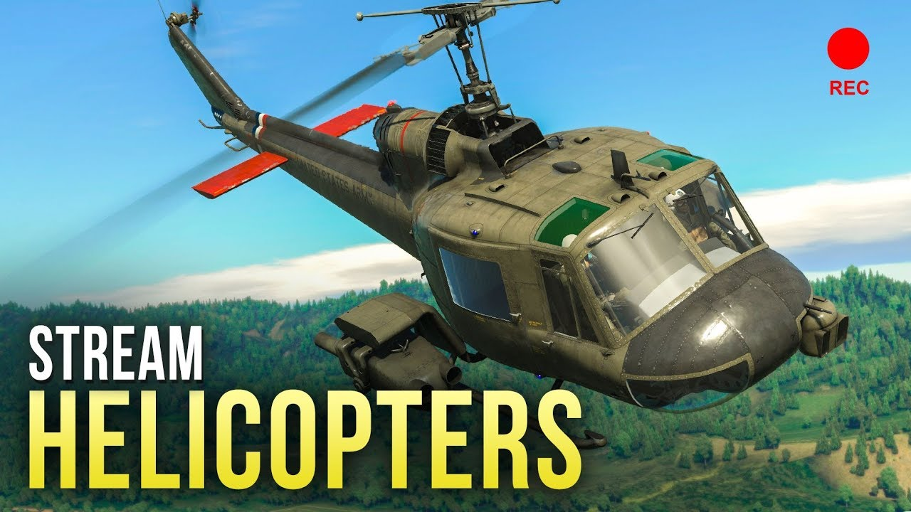 как играть в war thunder на вертолете